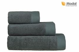 Nefretete ręcznik Modal 600gsm  50x90 stalowy