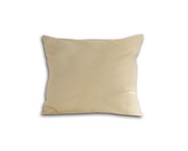 Poszewka z satyny bawełnianej 50x70 kremowa