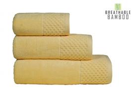Nefretete ręcznik Bamboo 600gsm  70x130 bananowy