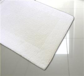 Dywanik łazienkowy dwustronny KATTRO COTTON 70x130 white