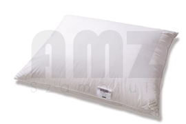 Poduszka Puchowa AMZ PREMIUM 100% puch 0,12 kg 40x40 biała