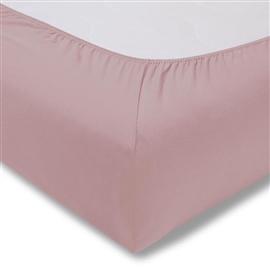 ESTELLA Prześcieradło jersey ALOE z gumką 100x200 rosa