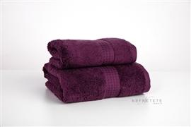 Komplet ręczników 2cz.ALPACA WARMTH 550 GSM figowy