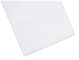 Prześcieradło bawełniane 160x210 białe