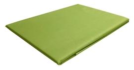 Zdjęcie Prześcieradło z satyny bawełnianej bez gumki 160x260 zielone