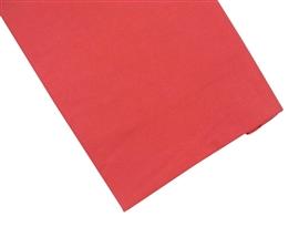 Prześcieradło bawełniane 180x210 czerwone