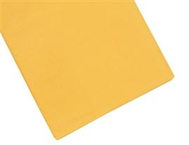 Prześcieradło bawełniane 200x220 żółte