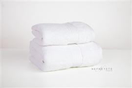 Komplet ręczników 2cz.ALPACA WARMTH 550 GSM biały