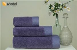 Nefretete ręcznik Modal 600gsm  50x90 lillac