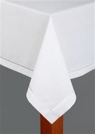 Obrus plamoodporny teflonowany IRYS SARA 140x140 biały