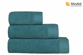 Nefretete ręcznik Modal 600gsm komplet 2cz. błękit nilu