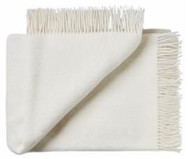 Pled wełniany ATHEN 100% wełny jagnięcej 130x200 white