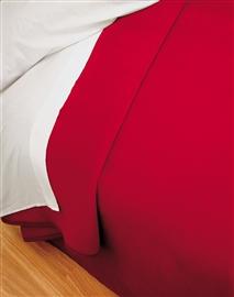 Koc hiszpański PIEL 220x240 czerwony