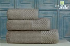 Nefretete ręcznik Bamboo 600gsm  50x90 beżowy
