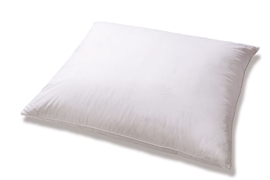 Poduszka z pierza AMZ 40x40 0,3 kg biała