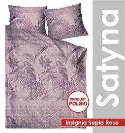 Zdjęcie GRENO Pościel satyna bawełniana Insignia Sepia Rose 200x220