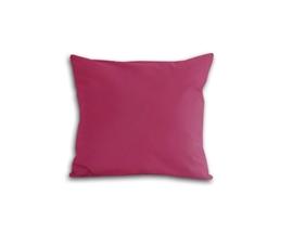 Poszewka z satyny bawełnianej 40x40 jasno-fioletowa