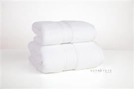 Komplet ręczników 2cz.LLAMA SOFT 600 GSM biały