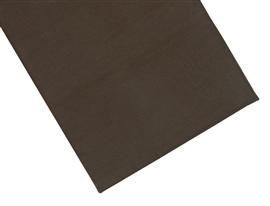 Prześcieradło bawełniane 180x210 ciemny brąz