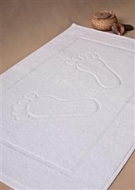Dywanik łazienkowy hotelowy 650 GSM 50x70 10 szt. biały