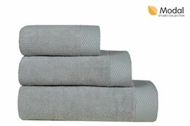 Nefretete ręcznik Modal 600gsm  90x160 popielaty