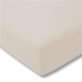 Prześcieradło ESTELLA Zwirn-jersey z gumką 150x200 beige