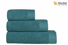 Nefretete ręcznik Modal 600gsm  50x90 błękit nilu
