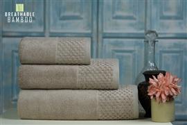Zdjęcie Nefretete ręcznik Bamboo 600gsm komplet 3cz. beżowy