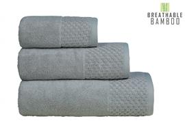 Nefretete ręcznik Bamboo 600gsm  50x90 popielaty