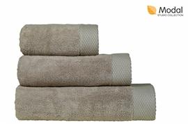 Nefretete ręcznik Modal 600gsm  50x90 beżowy