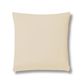 Poszewka z bawełny egipskiej ESTELLA Jersey 80x80 natur