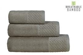Nefretete ręcznik Bamboo 600gsm  90x160 beżowy