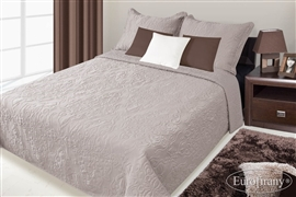 Narzuta na łóżko DAMASK 170x210 kakao