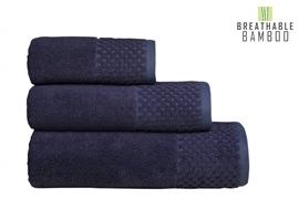 Nefretete ręcznik Bamboo 600gsm  50x90 lillac