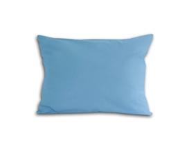Zdjęcie Poszewka z satyny bawełnianej 70x80 niebieska
