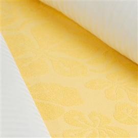 Prześcieradło frotte 175x220 żółte