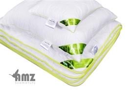Kołdra dziecięca i poduszka AMZ BAMBOO 90x120+40x60 biała