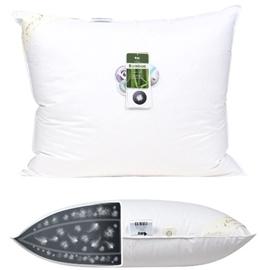 Poduszka Puchowa AMZ DREAM 90% puch 50x60 3-komorowa biała