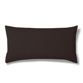 Poszewka z bawełny egipskiej ESTELLA Jersey 40x80 schoko