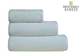 Nefretete ręcznik Bamboo 600gsm  90x160 biały