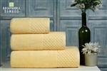 Nefretete ręcznik Bamboo 600gsm komplet 3cz. bananowy
