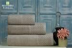 Nefretete ręcznik Bamboo 600gsm komplet 3cz. beżowy