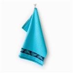 Ręcznik kuchenny JARZĘBINA 50x50 cyjan